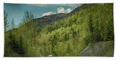 Traveling Alaska   Beach Sheet