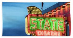 Traverse City State Theatre Beach Towel