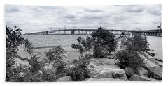 Traversing The Chesapeake Beach Towel