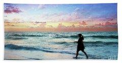 Treasure Coast Florida Seascape Dawn D6 Beach Towel