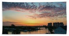Beach Sheet featuring the photograph Treasure Island Sunrise by RC Pics