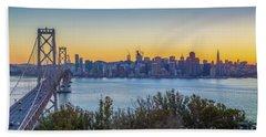 Treasure Island Sunset Beach Sheet by JR Photography