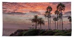 Treasure Island Sunset Beach Towel