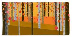 Tree Abstract Beach Sheet