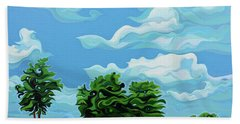 Tree Amigos Beach Towel