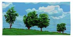 Tree Amigos Beach Sheet