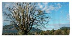 Tree And Sky Beach Sheet
