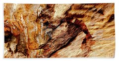 Tree Bark Series  - Patterns #2 Beach Sheet by Lexa Harpell