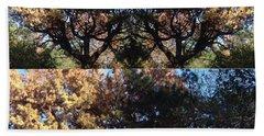 Tree Chandelier Beach Towel by Nora Boghossian