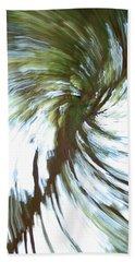 Tree Diptych 1 Beach Towel