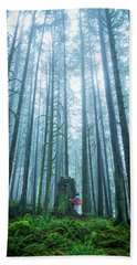 Tree Hugger Beach Towel