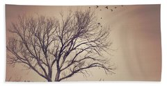 Beach Towel featuring the photograph Tree by Juli Scalzi