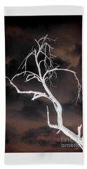 Tree Negative Beach Sheet