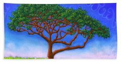 Tree Of Life 01 Beach Towel