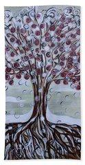 Tree Of Life - Winter Beach Sheet