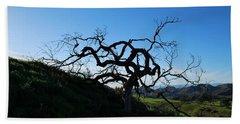 Beach Sheet featuring the photograph Tree Of Light - Landscape by Matt Harang