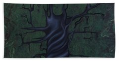 Tree Of Secrets Beach Towel