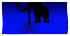 Tree Of Strength Prosperity And Longevity Beach Towel