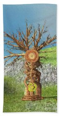 Tree Of Time Beach Towel