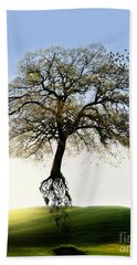 Tree On The Move Beach Towel