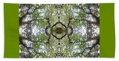 Tree Photo Fractal Beach Sheet