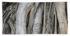 Tree Roots Beach Towel