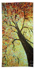 Treehouse Branches Beach Towel