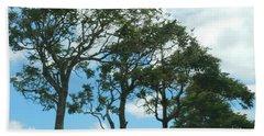 Trees In Kauai Beach Towel