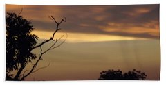 Trees Of The Lake Beach Towel by Don Koester