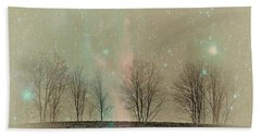 Tress In Starlight Beach Sheet