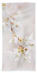 Triadelphia Cherry Blossoms Beach Sheet