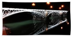Triana Bridge Beach Towel