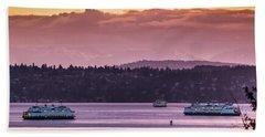 Triangle Ferry Run Beach Sheet