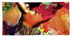Tribal Dance 0321 Beach Towel by Gull G