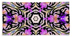 Beach Towel featuring the digital art Tribal Vortex by Derek Gedney