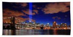 Tribute In Light Beach Sheet by Rick Berk