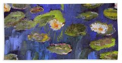 Tribute To Monet Beach Sheet