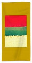 Tribute To Rothko Beach Sheet
