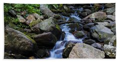 Trickling Mountain Brook Beach Towel