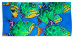 Queen Triggerfish Beach Towel