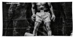 Trinity Boxing Gym Ali Vs Liston  Beach Towel