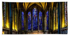 Trinity Chapel Salisbury Cathedral Beach Towel