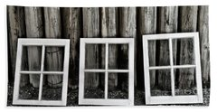 Beach Towel featuring the photograph Trio by Brad Allen Fine Art