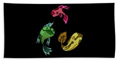 Trio Fish Beach Towel
