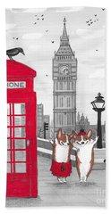 Trip To London Beach Towel