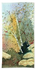 Triptych Panel 3 Beach Towel