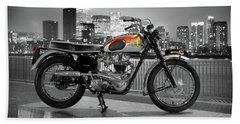 Triumph Bonneville 1962 Beach Towel