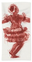 Trobriand Islands Dancer Beach Towel