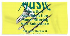 Trombone Music Is Right For You 5495.02 Beach Towel