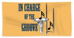 Trombones In Charge Of The Groove 5533.02 Beach Towel